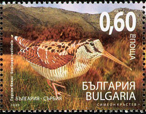 eurasianwoodcock-bulgaria-postage