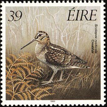 eurasianwoodcock-eire-postage