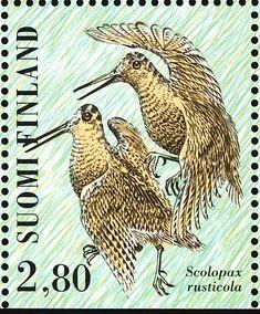 eurasianwoodcock-finland-postage