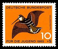 eurasianwoodcock-german-postage