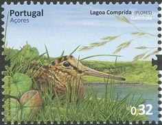 eurasianwoodcock-portugueseazores-postage
