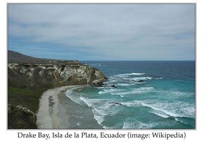 Isla de la Plata, Ecuador Shore