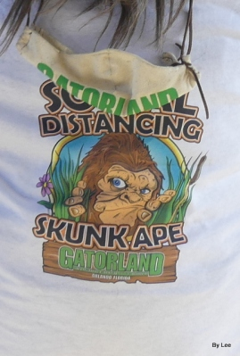 Skunk Ape at Gatorland